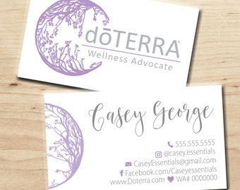 Items Similar To Salon Business Cards, Front And Back within Advocare Business Card Template