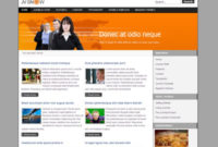 Jv Snow Free Joomla Portfolio Template For Business intended for Free Blogger Templates For Business