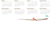 Kalenders - Office throughout Agenda Template Word 2007