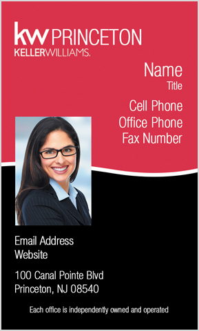 Keller Williams Classic Style With Small Photo Vertical regarding Unique Free Business Card Templates For Photographers