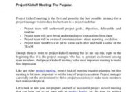 Kick Off Meeting Email Template Kick Off Meeting Invite inside Kick Off Meeting Agenda Template