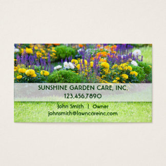 Landscaping Business Cards & Templates   Zazzle for Landscaping Business Card Template