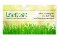 Lawn Care Business Cards, 600+ Lawn Care Business Card Inside Lawn Care Business Cards Templates Free