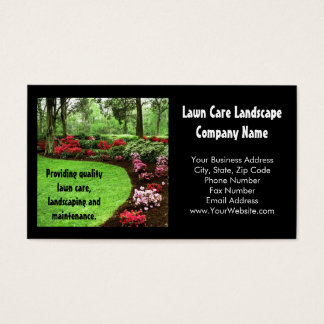 Lawn Care Business Cards, 600+ Lawn Care Business Card pertaining to Quality Landscaping Business Card Template
