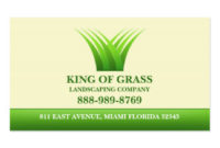 Lawn Care Business Cards, 600+ Lawn Care Business Card Regarding Best Lawn Care Business Cards Templates Free