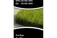 Lawn Care Business Cards, 600+ Lawn Care Business Card regarding Landscaping Business Card Template