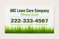 Lawn Care Business Cards, 600+ Lawn Care Business Card regarding Quality Landscaping Business Card Template