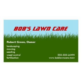 Lawn Care Lawn Mowing Landscaping Business Cards, 210 Lawn intended for Lawn Care Business Plan Template Free