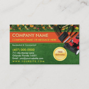 Lawn Mower Gifts & Gift Ideas   Zazzle Uk Intended For Best Gardening Business Cards Templates