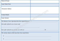 Lease Template Archives – Sample Forms regarding Business Lease Agreement Template