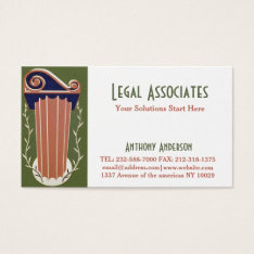 Legal Profession, Attorney And Law Firm Business Card intended for Legal Business Cards Templates Free