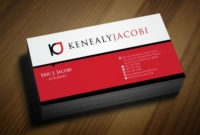 Letterhead/Envelope/Business Cards For Law Firm – Kenealy Intended For Best Business Card Letterhead Envelope Template