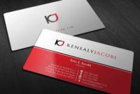 Letterhead/Envelope/Business Cards For Law Firm – Kenealy With Business Card Letterhead Envelope Template