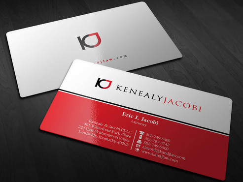 Letterhead/Envelope/Business Cards For Law Firm - Kenealy with Business Card Letterhead Envelope Template
