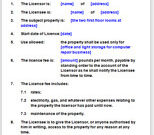 Licence Agreement To Use Rooms In Home For Business with regard to Free Business Partnership Agreement Template Uk