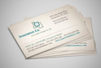Life Insurance Agency Business Card Templates throughout Non Medical Home Care Business Plan Template