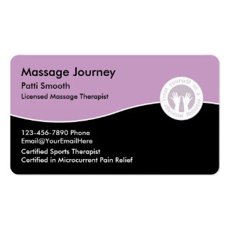 Lmt Business Cards & Templates | Zazzle with Massage Therapy Business Card Templates