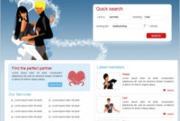 Love Dating Template Free Website Templates In Css, Html Throughout Business Plan Template For Clothing Line