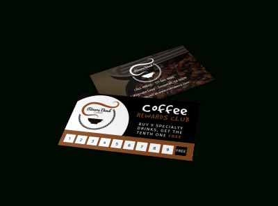 Loyalty Card Templates   Mycreativeshop within Coffee Business Card Template Free