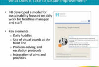 Management Practices For Sustainability - Module 1 throughout Daily Huddle Agenda Template