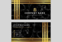 Marble Business Card Template with regard to Email Business Card Templates