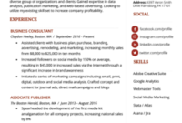 Marketing Manager Resume Example & Writing Tips | Rg intended for Simple Business Profile Template