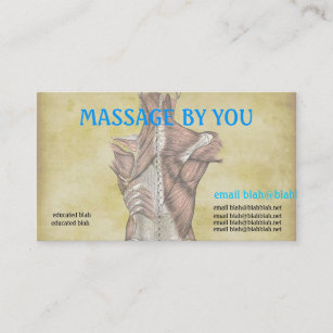 Massage Therapy Business Cards & Profile Cards | Zazzle Ca throughout Massage Therapy Business Card Templates