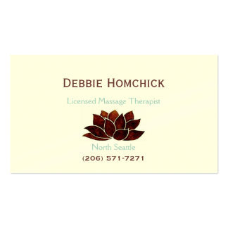 Massage Therapy Business Cards & Templates | Zazzle with Massage Therapy Business Card Templates