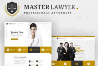 Master Lawyer Website Templateyouwes | Dribbble | Dribbble pertaining to Fresh Professional Website Templates For Business