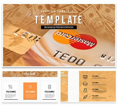 Mastercard Credit Card Powerpoint Template   Mastercard within Unique Business Card Template Powerpoint Free