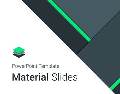 Material Presentation Templateswelcome To Material Design in Fresh Business Idea Presentation Template