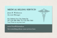 Medical Billing Business Cards & Templates | Zazzle throughout New Medical Business Cards Templates Free