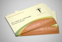 Medical & Health Care Flyer & Brochure Templates in New Medical Business Cards Templates Free