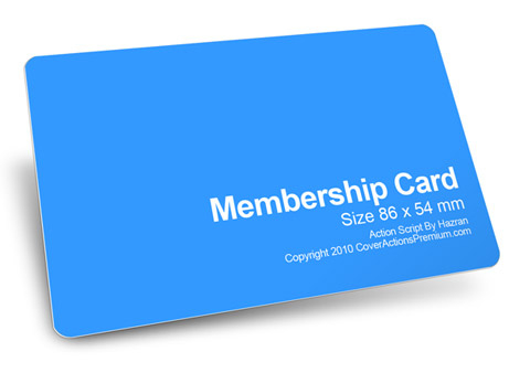 Member Card Mockup Action Script | Cover Actions Premium intended for Quality Photoshop Cs6 Business Card Template