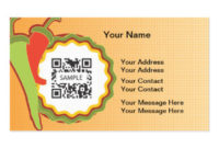 Mexican Food Business Cards & Templates   Zazzle with regard to Fresh Restaurant Business Cards Templates Free