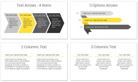 Modern Business Plan Powerpoint Template in Business Plan Presentation Template Ppt