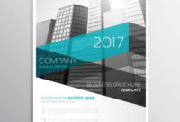 Modern Company Brochure Template Presentation - Download for Presentation Handout Template