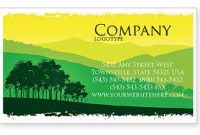 Mountain Landscape Business Card Template, Layout Pertaining To Fresh Photography Business Card Templates Free Download