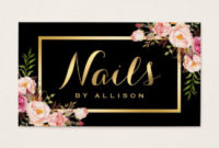 Nail Salon Business Cards, 3100+ Nail Salon Business Card throughout Hair Salon Business Card Template