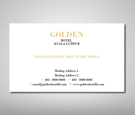 Name Card Design Template - Business Card Design, Name intended for Fresh Generic Business Card Template