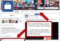 Nectarmedia – A Peek At Facebook Business Page Changes within New Facebook Templates For Business