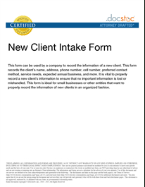 New Client Intake Form   Letter Of Recommendation intended for Business Coaching Contract Template