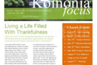 Newsletter Templates Word in Free Business Newsletter Templates For Microsoft Word