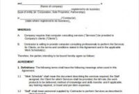 Non Compete Agreement Template | Template Business pertaining to Unique Business Templates Noncompete Agreement