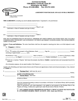 North Carolina Association Of Realtors Commercial Lease for Business Lease Proposal Template