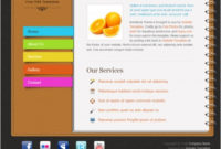 Notebook Free Website Templates In Css, Html, Js Format in Online Store Business Plan Template