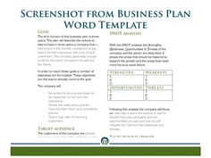 Now You Can Write Your Own Business Plan For Your Hair with regard to Business Plan Template For Service Company