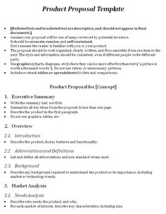 One Page Proposal Template   Images And Template   The Up inside Quality Business One Sheet Template