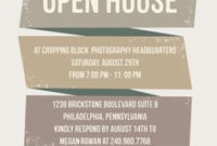 Open House Invitation – Google Search (With Images) | Open intended for Business Launch Invitation Templates Free