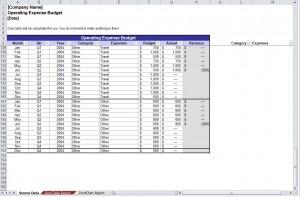 Operating Budget Template | Operational Budget Template Regarding Best Word 2013 Business Card Template